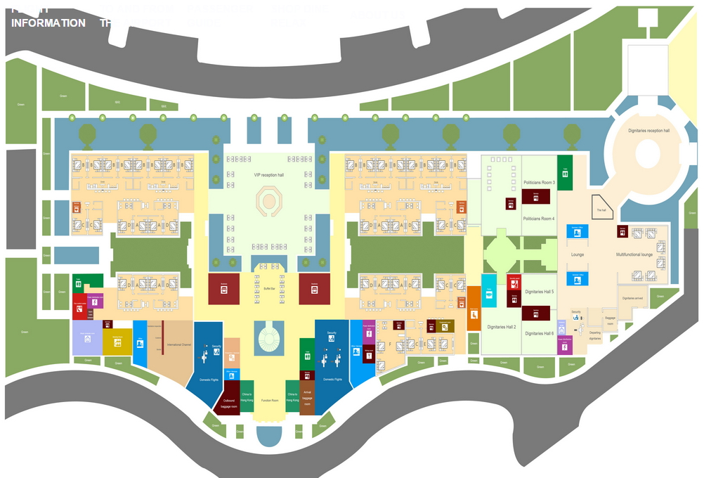 Схема аэропорта санья