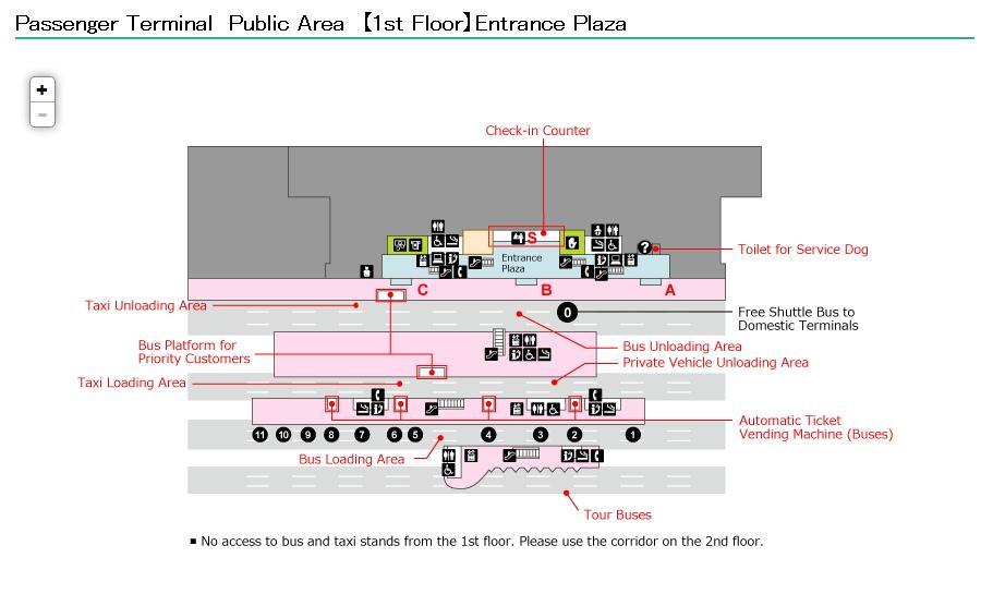 Схема аэропорт ханеда