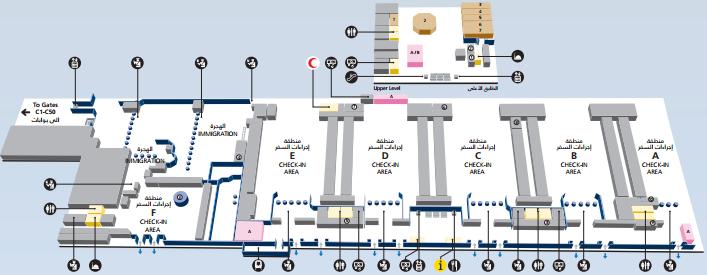 Аэропорт шарджи схема