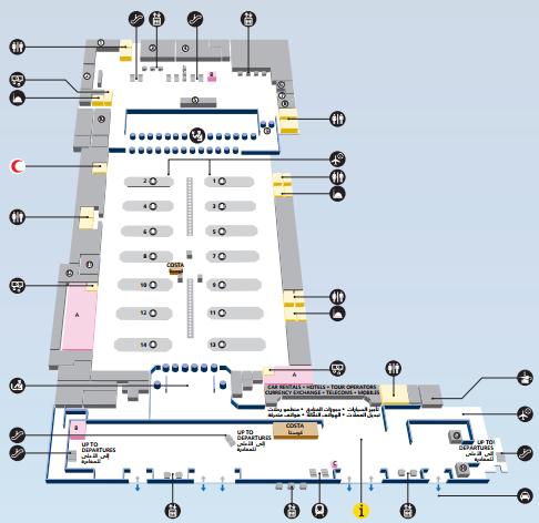Аэропорт дубай терминал 2 схема квартиры с бассейном в дубае